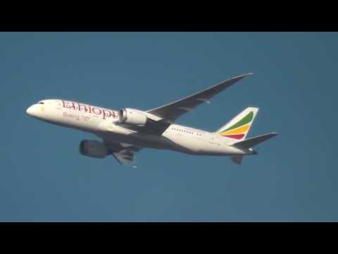 Ethiopian Airlines B787-800 London Heathrow Approach/Landing(From Addis Ababa (ADD)
