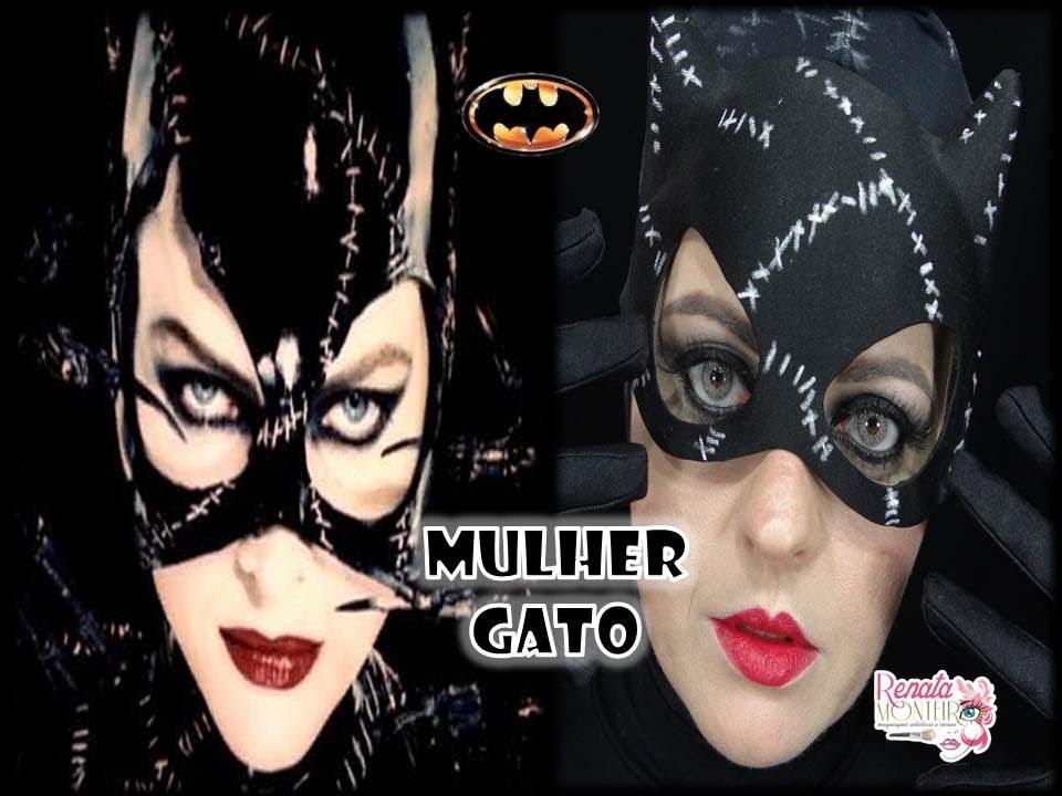 Maquiagem artistica mulher gato [PUNIQRANDLINE-(au-dating-names.txt) 36