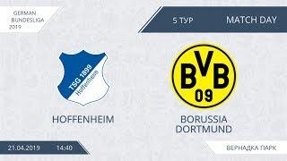 AFL19. Germany. Bundesliga. Day 5. Hoffenheim - Borussia Dortmund