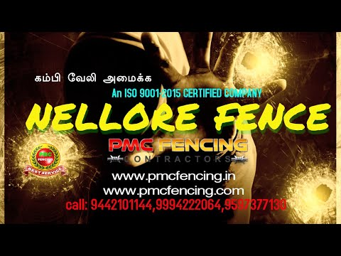 CHENNAI|PMC FENCING CONTRACTORS IN CHENNAI,PONDICHERRY,TAMILNADU,INDIA