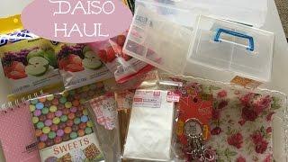 DAISO HAUL! JANUARY 2016