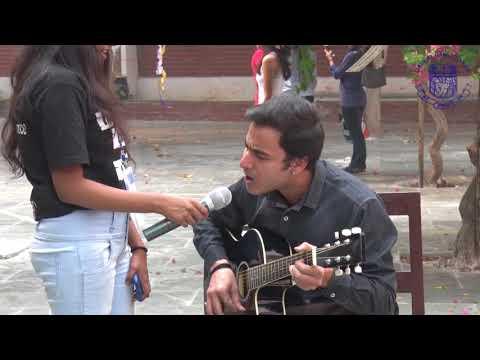 Daulat Ram College II Fest 2017 II Acoustic Guitar Cover II Bollywood Mashup II K.M. Covers