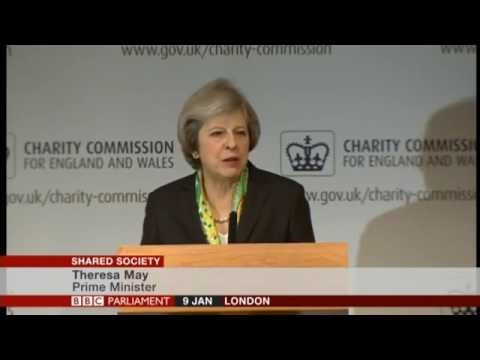 WORLD NEWS | Prime Minister Theresa May's speech on the shared society and mental health