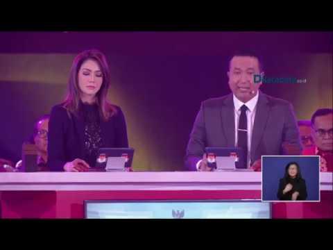 Debat Jokowi - Ma'ruf dengan Prabowo - Sandiaga Uno (Full Version)