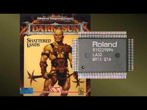 Dark Sun: Shattered Lands - Roland LA Music - R17 - Menu