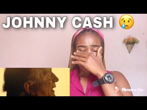 Johnny Cash - Hurt  (Official music video) REACTION | Emotional😢|Onyin pearl reacts