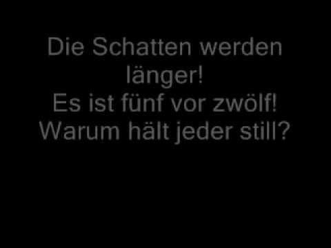 Die Schatten werden länger (Elisabeth- Das Musical) Lyrics
