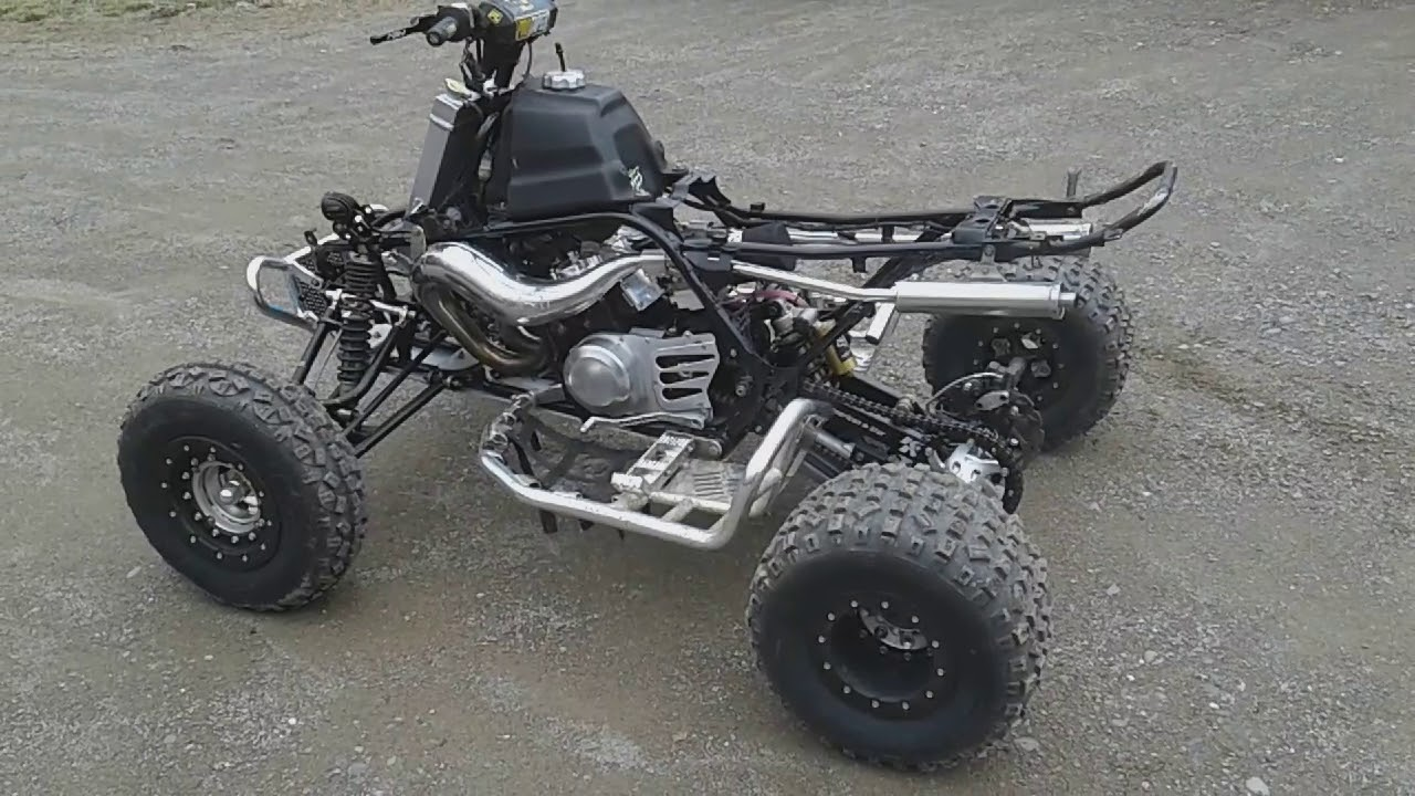 Yamaha banshee 472 supercub