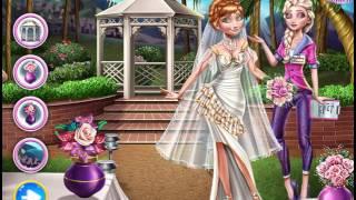Мультик игра Холодное сердце: Эльза готовится к свадьбе Анны (Elsa Preparing Anna's Wedding)