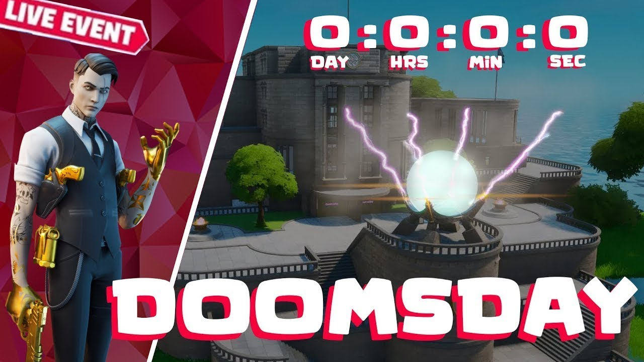 doomsday device fortnite live event