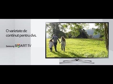 Televizor Smart 3D LED Samsung 40F6400 VIDEO