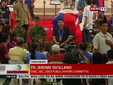 CBCP Exec. Sec., Public Affairs Committee Fr. Jerome Secillano