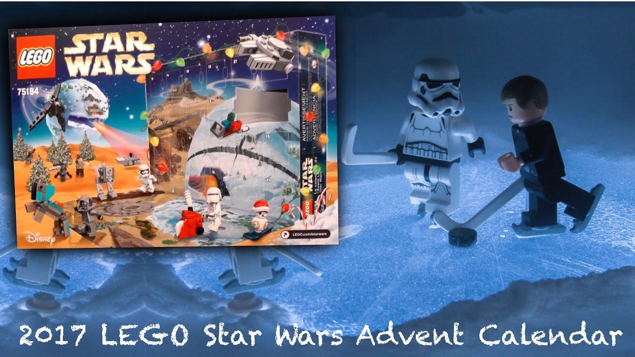 2017 LEGO Star Wars Advent Calendar (75184) - YouTube