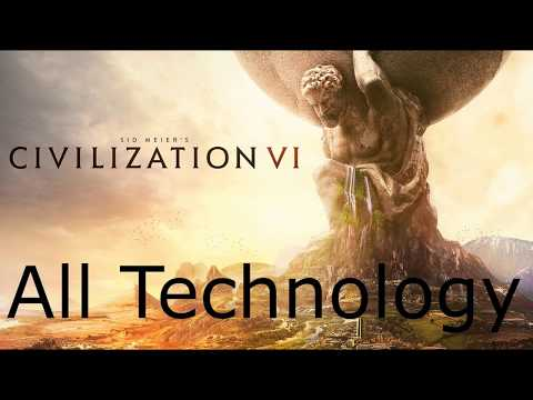 Civilization 6 All Technologies / Technology Quotes