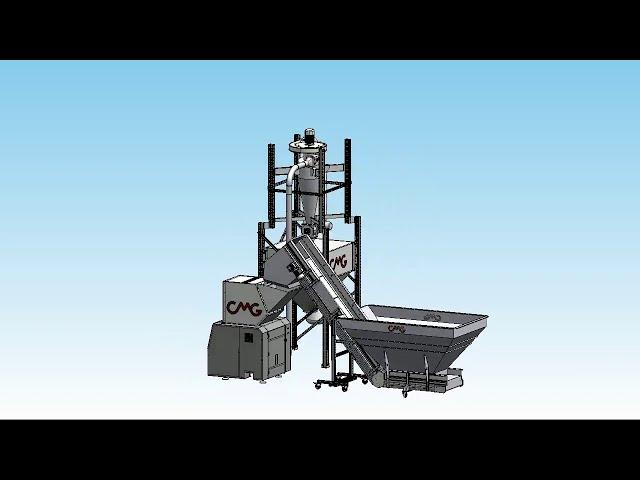 CMG preform grinding system 3D
