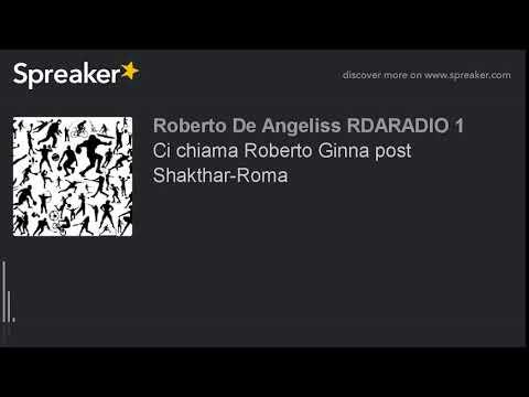 Ci chiama Roberto Ginna post Shakthar-Roma