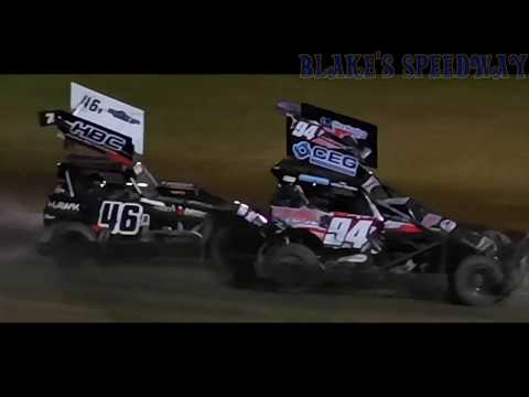 My angle of the night. - dirt track racing video image