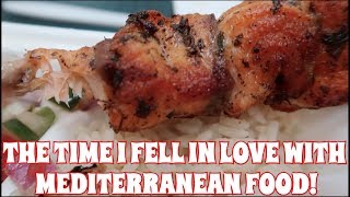 THE TIME I FELL IN LOVE WITH MEDITERRANEAN FOOD! PITA GYRO