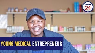 WATCH: Second year accounting student brings healthcare to his community