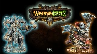 Warmachine & Hordes - Trollbloods (Calandra) vs. Convergence of Cyris (Axis) - 50pt Battle Report