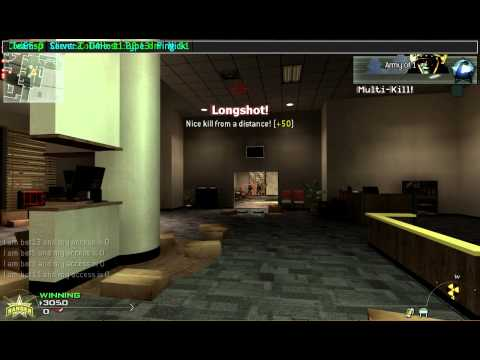Worlds fastest aimbot and fastest nuke EVER [7 seconds] ! [MW2]
