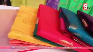 Handloom Designer Sarees Offer Sale | Miss India Designer Sarees | Discount Sarees | SumanTv