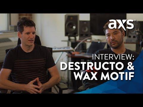 Destructo & Wax Motif: Exclusive Interview