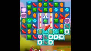 Candy Crush Friends Saga Level 615 - NO BOOSTERS 👩👧👦 | SKILLGAMING ✔️