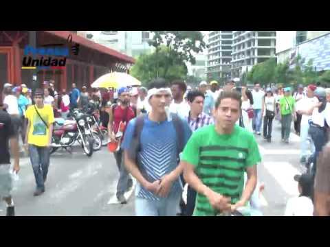 Venezolanos seguirán en las calles hasta lograr una salida por la vía electoral #VzlaNoSeRinde