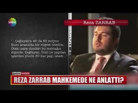 Reza Zarrab Mahkemede Ne Anlattı?