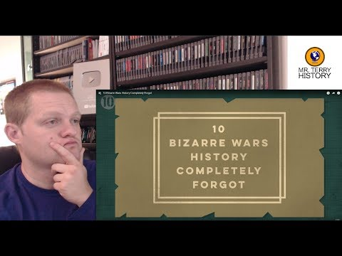 A History Teacher Reacts | '10 Bizarre Wars History Completely Forgot' by All Time 10's