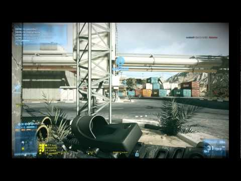 Battlefield 3: IzNoGooD343 in jet @ Operation Firestorm #14