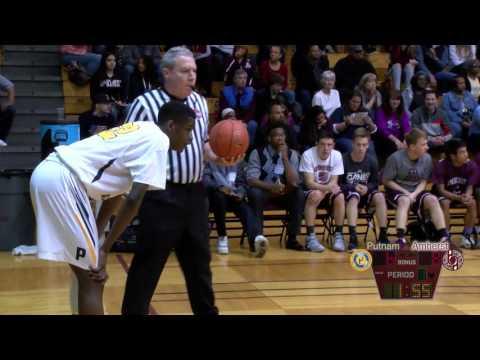 Boys Basketball - Putnam vs. Amherst 3-11-16 (WMass Finals)