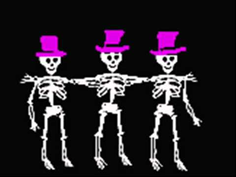 Spooky Scary Skeletons  by Andrew Gold from Happy Halloween Howls