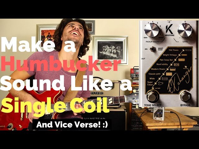 Is This The Best Guitar Pedal Ever!? - The Keyztone Exchanger Pickup Enhancer