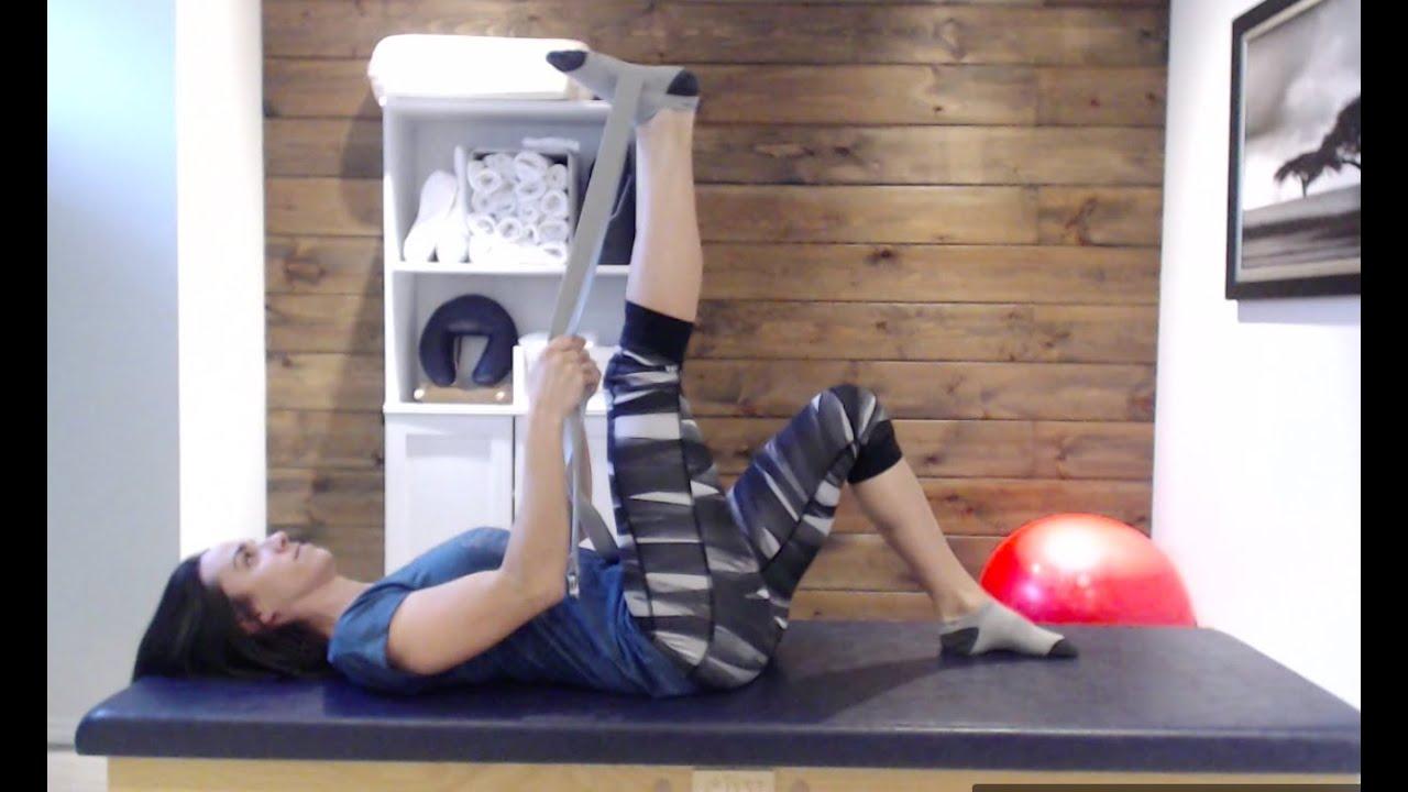 Vidéo: 3 exercices simples à réaliser pour agir sur une raideur à un genou.