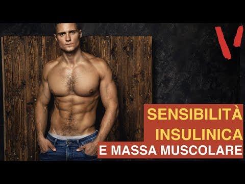Massa muscolare: perchè è importante la sensibilità insulinica