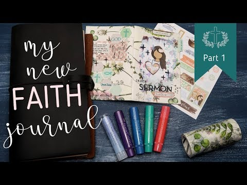 Setting up my new Faith Planner - YouTube