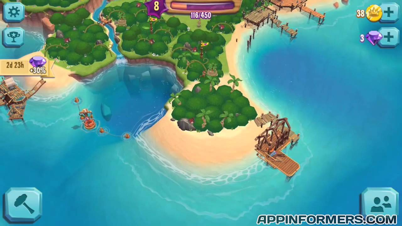 How To Level Up Fast In Paradise Bay Youtube
