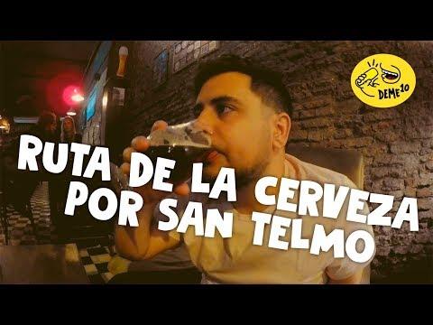 Bares de SAN TELMO 🍺 - MEJORES bares de CERVEZA ARTESANAL ✅
