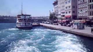 Istanbul Sea view - From Karakoy Pier to Kadikoy Pier