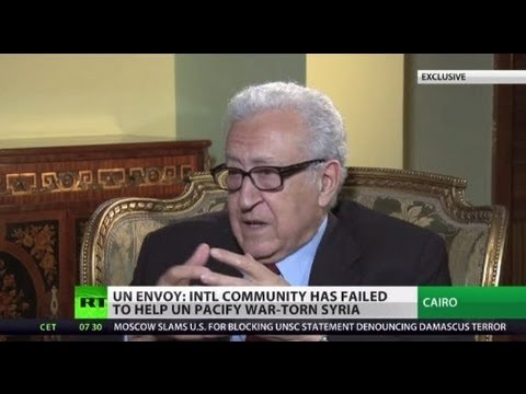 'Peaceful solution or Syria will be destroyed' - UN envoy Brahimi (RT EXCLUSIVE)