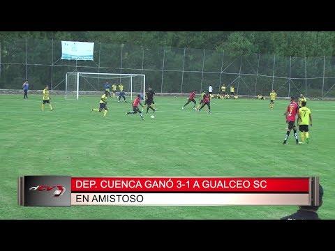 Deportivo Cuenca Gana 3-1 A Gualaceo en Partido Amistoso