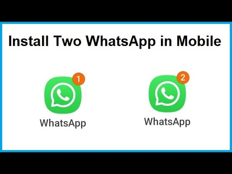 How To Install 3 WhatsApp In Android Mobile Phone[Urdu/hindi]