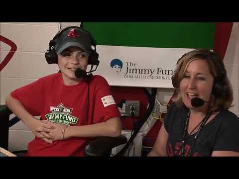 Sarah Podradchik joins Dale & Holley with Keefe at 2017 Jimmy Fund Radio-Telethon