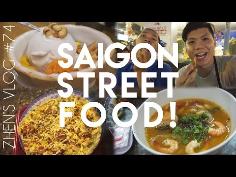 Street Food with Saigon Free Walking Tours! (Ho Chi Minh City) | Zhen's Vlog #74