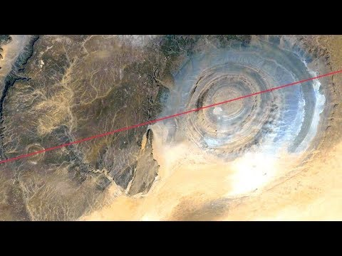 The Richat Structure and Atlantis
