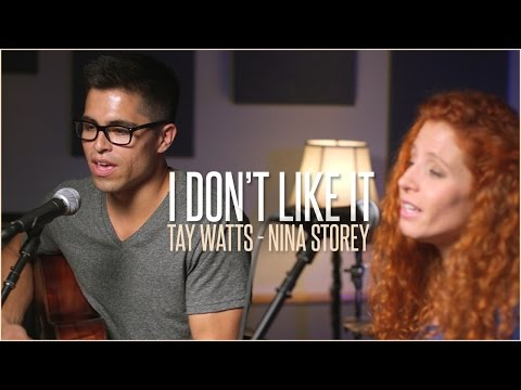 Flo Rida ft.Robin Thicke - I Don't Like It, I Love It - Acoustic Cover by Tay Watts & Nina Storey