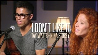 Download Flo Rida ft.Robin Thicke - I Don't Like It, I Love It - Acoustic Cover by Tay Watts & Nina Storey MP3 song and Music Video