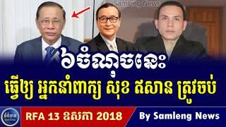 ៦ចំណុចនេះលោក សុខ ឥសាន អ្នកនាំពាក្យលោក ហ៊ុន សែន ត្រូវចប់, Cambodia Hot News, Khmer News